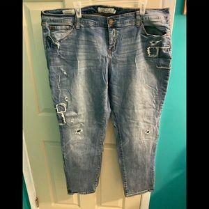 Torrid Boyfriend fit jeans- size 22